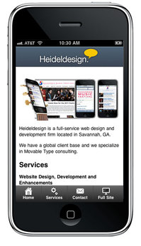 HD Mobile Site