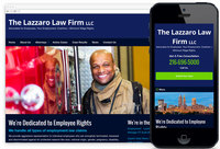 We Designed: Lazzaro Law Firm