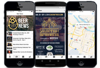 We Designed: Savannah Craft Beer Week 2016 App
