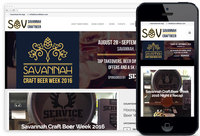 We Designed: Savannah Craft Beer Week