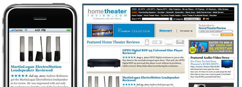 Home Theater Review Mobile