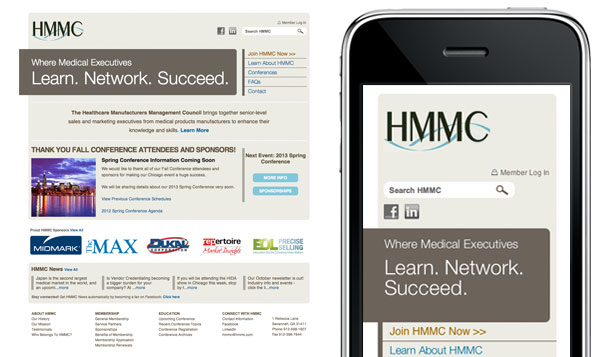 HMMC Responsive Screenshot