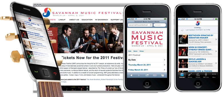 app for savannah music festival