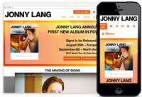We Designed: Jonny Lang