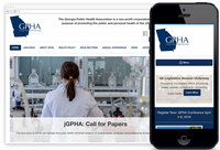 We Designed: Georgia Public Health Association