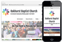 We Designed: Oakhurst Baptist