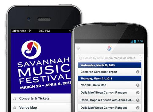Music Festival App Example