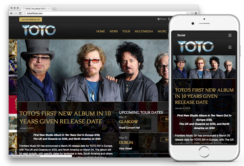 TOTO Official Website