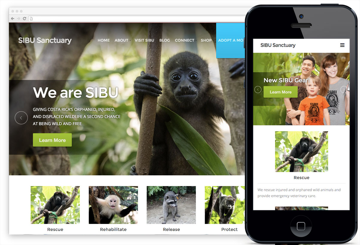 SIBU Sanctuary website